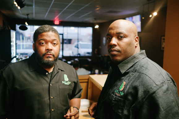 Antonio and Jason Gardner, co-owners of BeLeaf Cigar Lounge opened their brick and mortar location in November 2017.