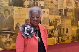 Mary Mitchell has lived in Orange Mound, the oldest African American neighborhood in the City of Memphis, her entire life and has collected a wealth a knowledge through the ebbs and flows of time and change.