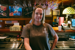 Laura Wheeler has worked at Westy's for one year. (Brandon Dahlberg)