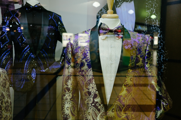 A suit display inside the Southland Mall in Whitehaven. (Brandon Dahlberg)