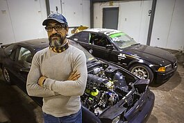 "Muhsen ""Moe"" Najdawi parlayed his passion for cars into Turbo Knights, an auto shop in Whitehaven."