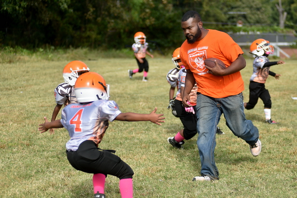 The Orange Mound Raiders has approximately 23 volunteers and coaches throughout the year focused on mentoring youth in Orange Mound through sports.