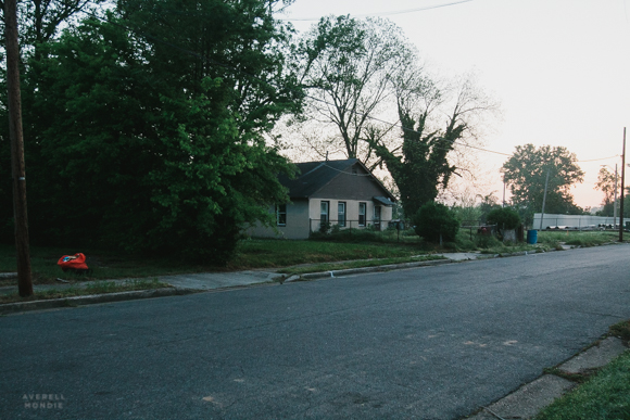 A once occupied house sits abandoned after being acquired by MLGW.