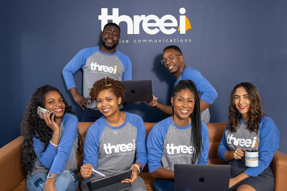 "The Three(i) Creative Communications team. Three(i) is hosting a speaker series for ""do-gooder"" professionals. (Submitted)"
