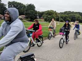 A new cohort of South Memphis Glide Ride Ambassadors is in training. (Bike/Ped Memphis)