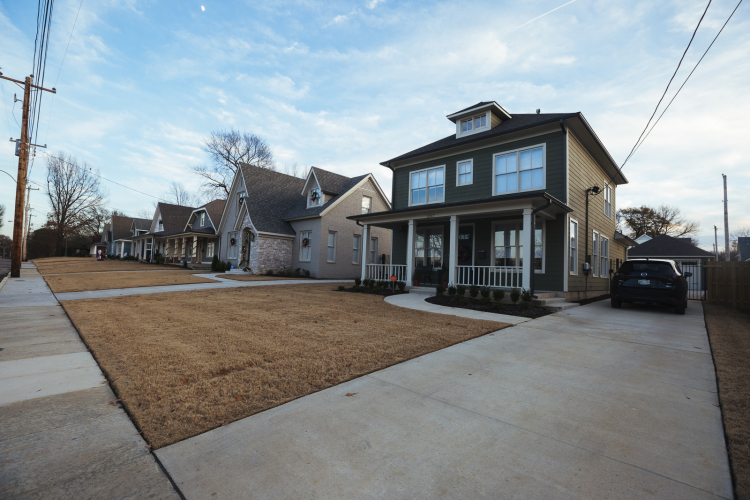 New homes on Autumn Avenue and Circle Drive are selling in the $300,000 to $350,0000 range, which are some of the highest property values in the area. (Ziggy Mack)