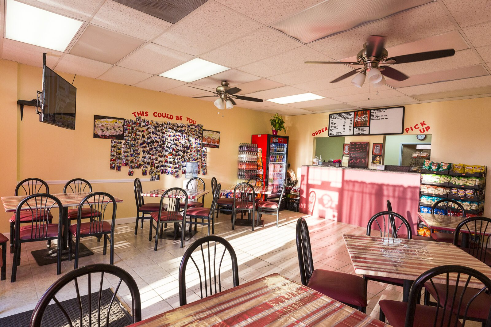 Ms. B's Sub Shop opened in January 2019 and already has a devoted fan base, thanks in large part to co-owner Bonnie Harris's fame as the secret behind the sandwiches at the Super Submarine Sandwich Shop, better known as Chinese Sub Shop. (Ziggy Mack)