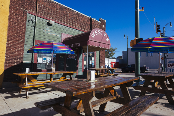 Patio of Westy's in the Pinch District. (Ziggy Mack)