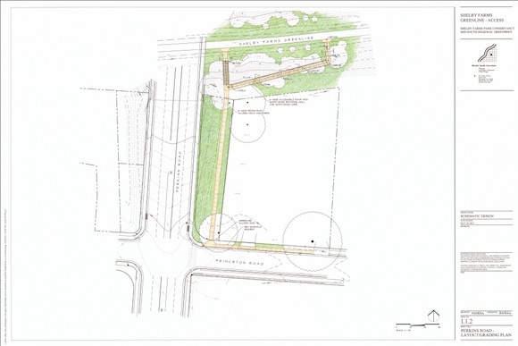 Design for Perkins access to the Greenline from Ritchie Smith Associates