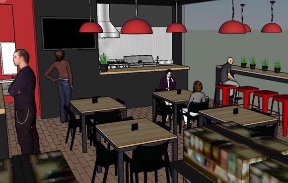 901 Grille and Market concept design