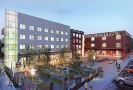 The Memphis mixed-use project includes new construction and adaptive reuse.