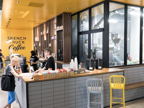 Customers Can See The Roasting Process In Action At New French Truck Crosstown Location