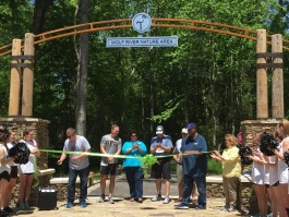 Germantown Greenway ribbon cutting