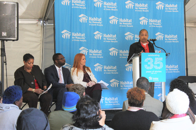 Habitat President and CEO Dwayne Spencer talks about Habitat's plans for its 35th anniversary.