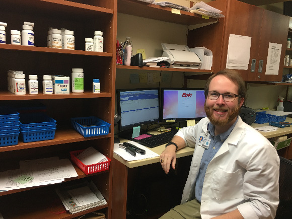 Pharmacist Sean Altendorf heads up the new Baptist Specialty Pharmacy in East Memphis.