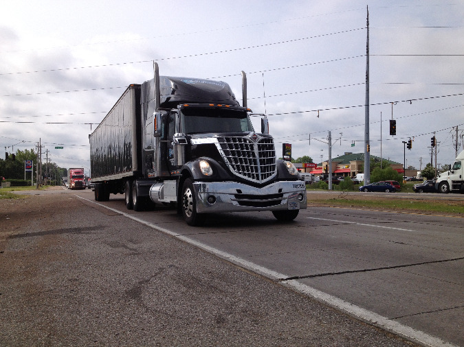 The corridor, which is critical to the logictics industry, sees heavy truck use year-round.