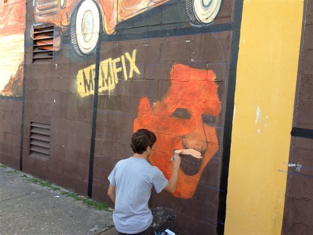 Artwork from local artists is an integral component of MEMFix events.