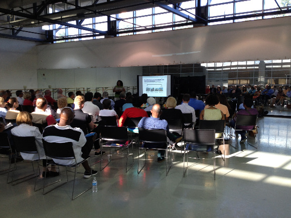 The Memphis 3.0 public meeting was held at Ballet Memphis in Cordova.