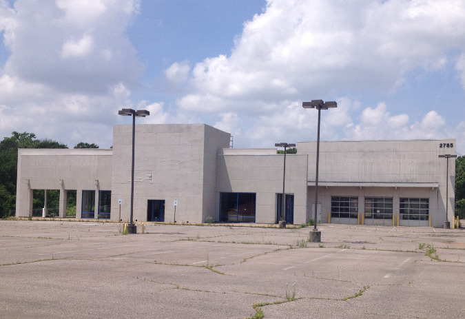 The building was formerly an auto dealership.and has sat empty for several years.