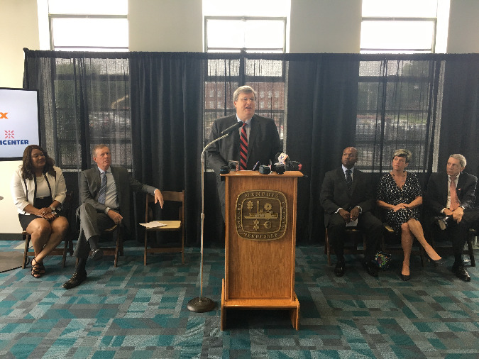 Memphis Mayor Jim Strickland announced The 800 Initiatce in May, with a $500,000 investment from the city.