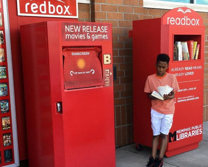 The Readbox is meant to be representative of the Memphis Public Libraries.