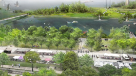 Memphis Riverfront development concept