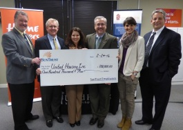 SunTrust donated $100,000 to United Housing, Inc.