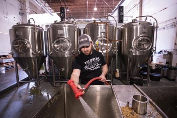 Memphis Made head brewer Drew Barton