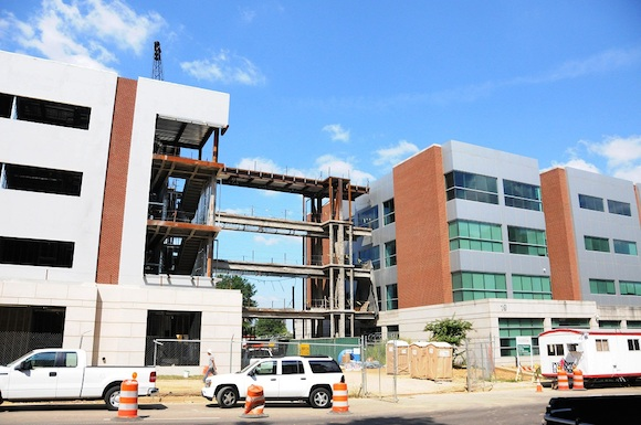 Translational Science Research Building under construction