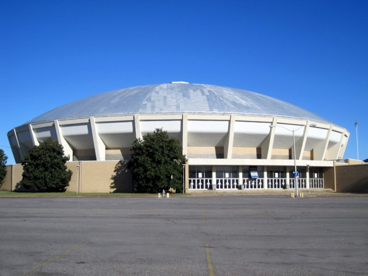 The future of the Mid-South Coliseum, a once-popular entertainment venue, is bleak
