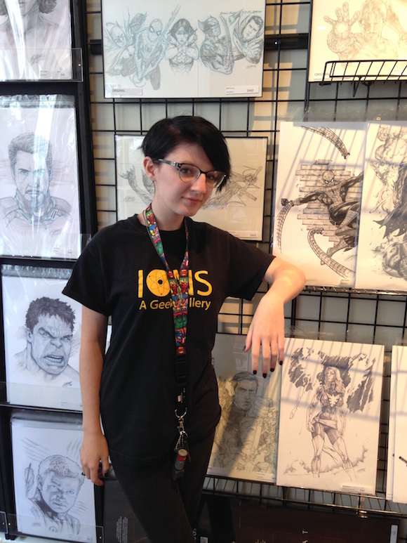 Alissa Brielle Diggs at IONS: A Geek Gallery on South Main