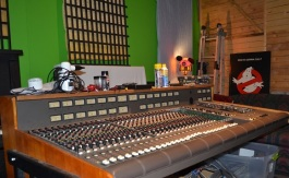 The 1980s vintage MCI 600 console recently purchased by High-Low Recording