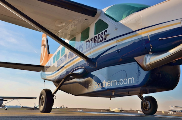 Southern Airways Express services eight cities in the southern U.S.
