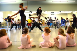 What really sets NBE apart are its students. Simply put: these are not the kinds of kids you usually see in a dance studio.