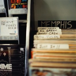 """We also stock tons of Memphis music,"" says Goner Records Store owner Zac Ives."