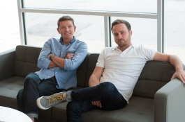 Mike Carpenter (left) and Joel Halpern (right) are partners at creative firm Loaded For Bear