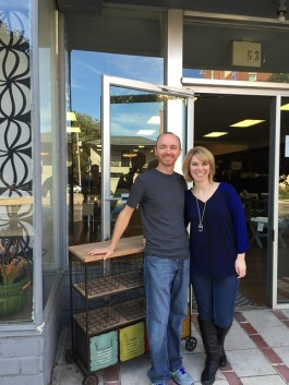 Chris and Neala Hester, owners of Frugal Home Finds