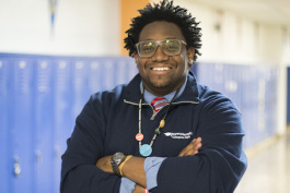 Adrian Smith teaches 10th-grade English at KIPP Memphis Collegiate High School