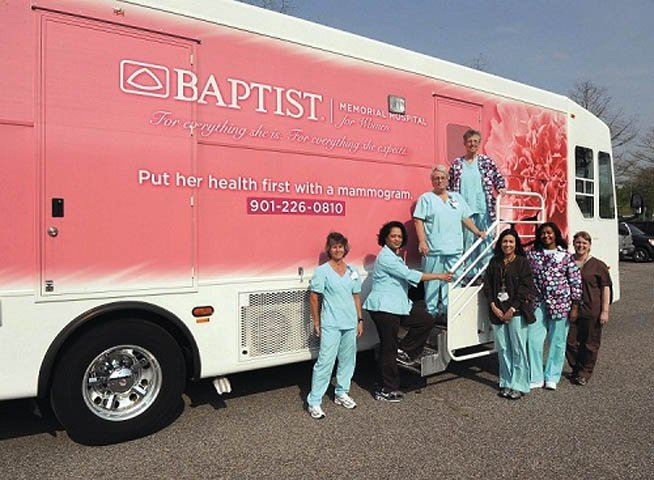 Baptist mobile mammography truck