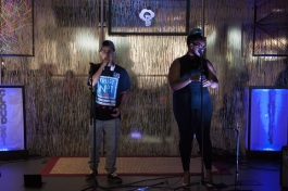 Teens perform at CLOUD901 on its first anniversary