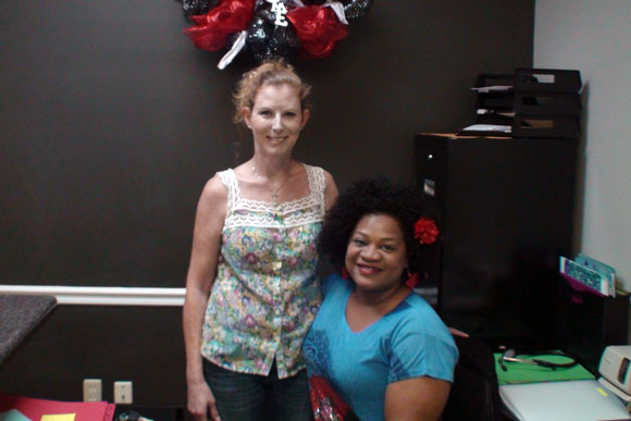 H&M co-owners: nurse practitioner Lolita Horton (left) and clinical administrator Stephanie Martin