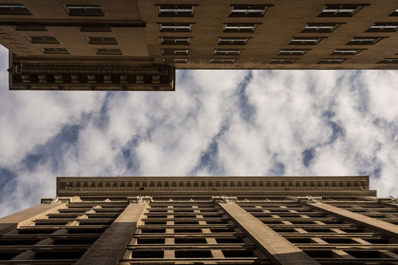 Downtown Looking Up
