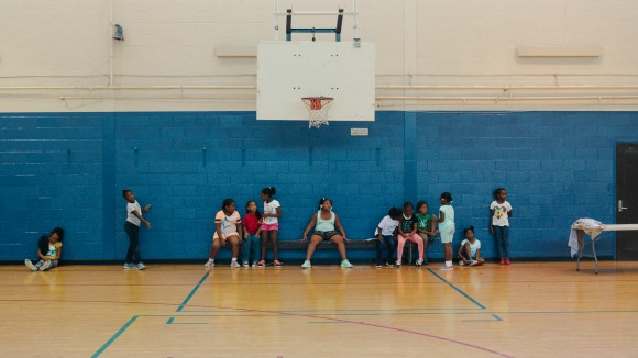Children at Frayser's Ed Rice Community Center