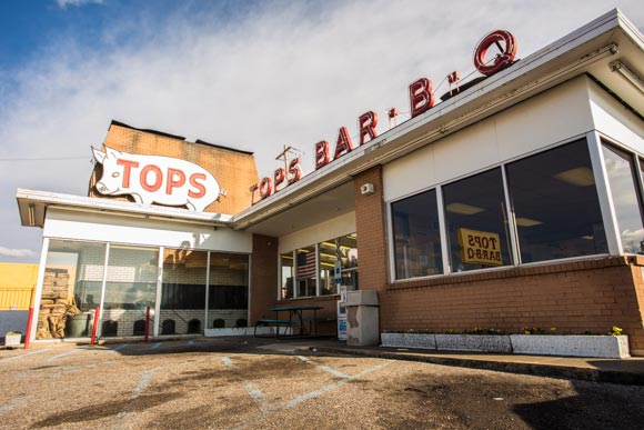 Tops BBQ on Summer Ave