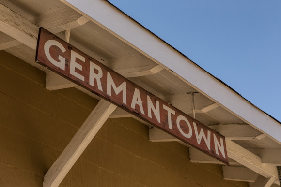 Germantown train stop