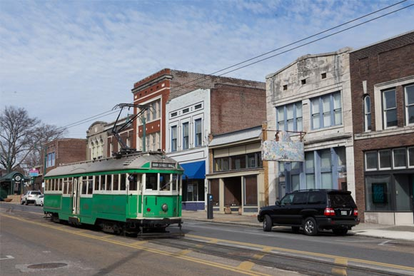 South Main Street Trolley