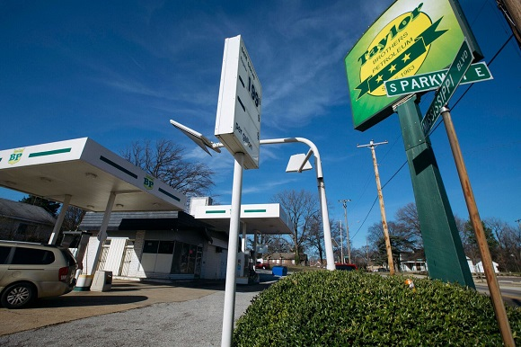 Taylor Brothers Petroleum, one of the oldest black owned gas stations in Memphis