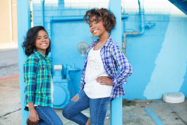 Madison and Mallory Iyadunni appeared on the show Shark Tank in 2016 to pitch their skin care line Angels and Tomboys. (Submitted)