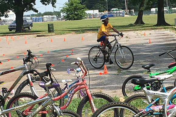 Hug Neighborhood Park Friends encourages engagement with city parks with activities like bicycle clubs and rodeos.