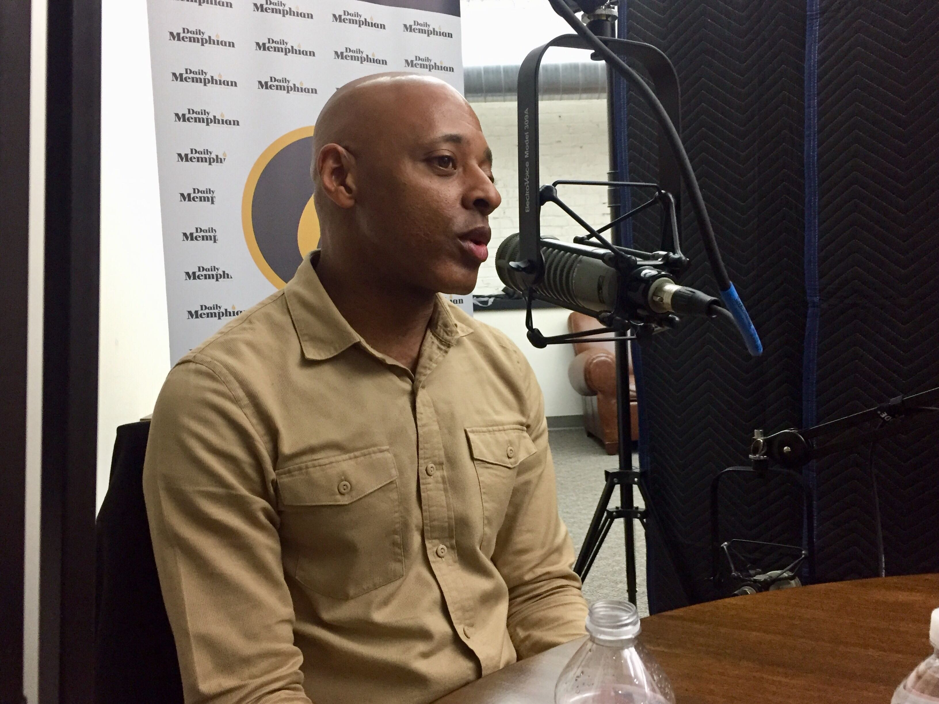 Andre Jones with Jones Urban Development discuss local efforts to support emerging minority- and women-owned real estate developers on the On the Ground Podcast. (Natalie Van Gundy)